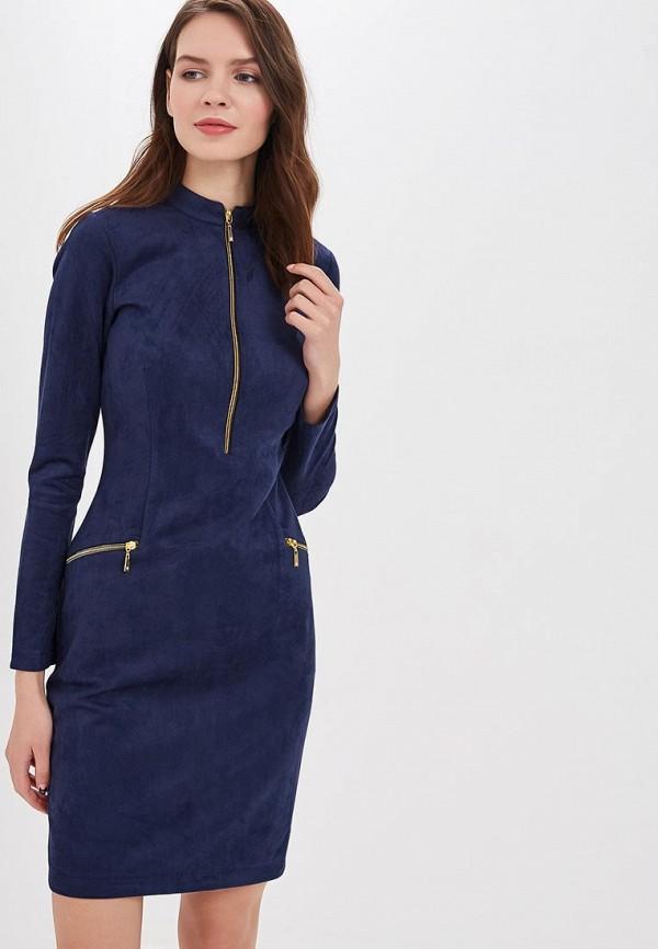 женское повседневные платье elit by ter-hakobyan, синее