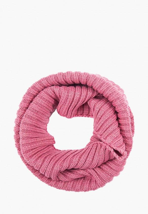 женский снуд finn flare, розовый