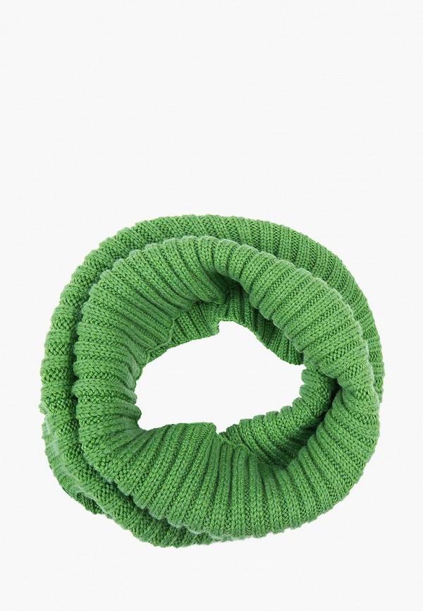 женский снуд finn flare, зеленый