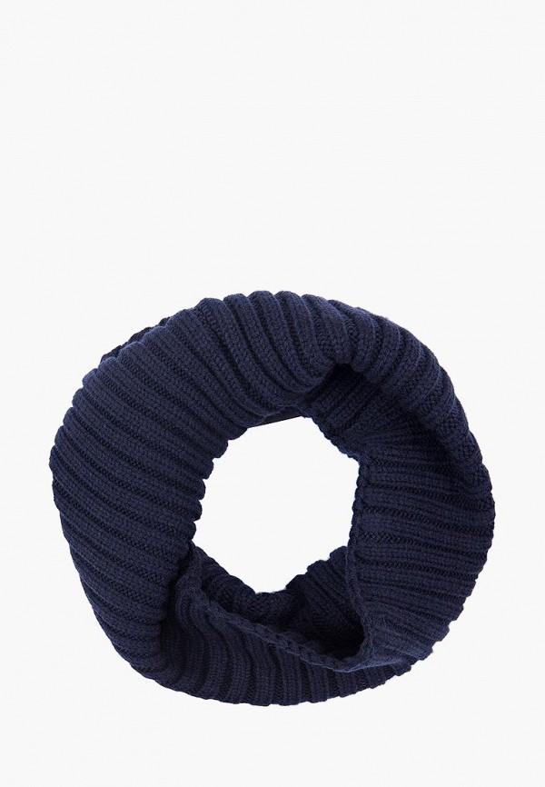 женский снуд finn flare, синий