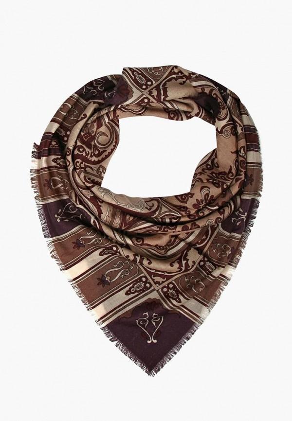 женский платок henry backer, коричневый
