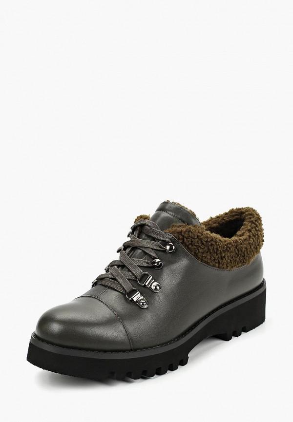 женские ботинки berkonty, зеленые