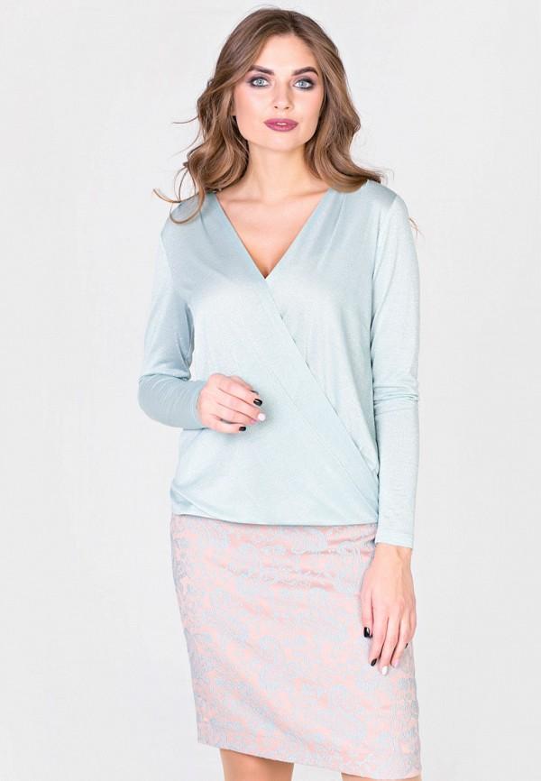женская блузка filigrana, голубая