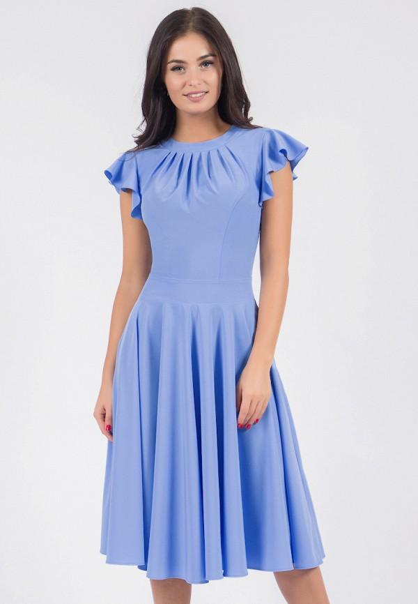 Купить Платье Grey Cat, MARTELLA, mp002xw1hg1d, голубой, Осень-зима 2018/2019
