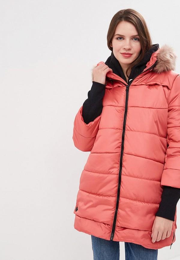 женская куртка sfn, розовая