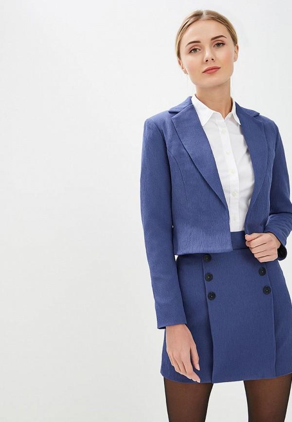 женский костюм sseniore, синий
