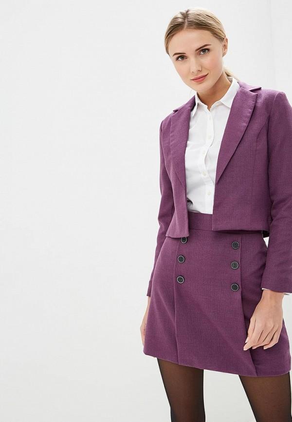 женский костюм sseniore, фиолетовый