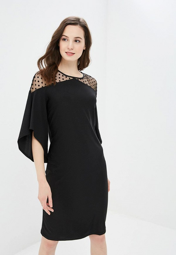 женское вечерние платье argent, черное