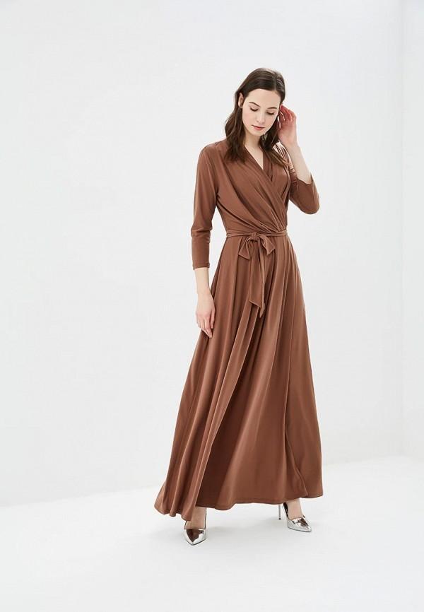 женское повседневные платье argent, коричневое