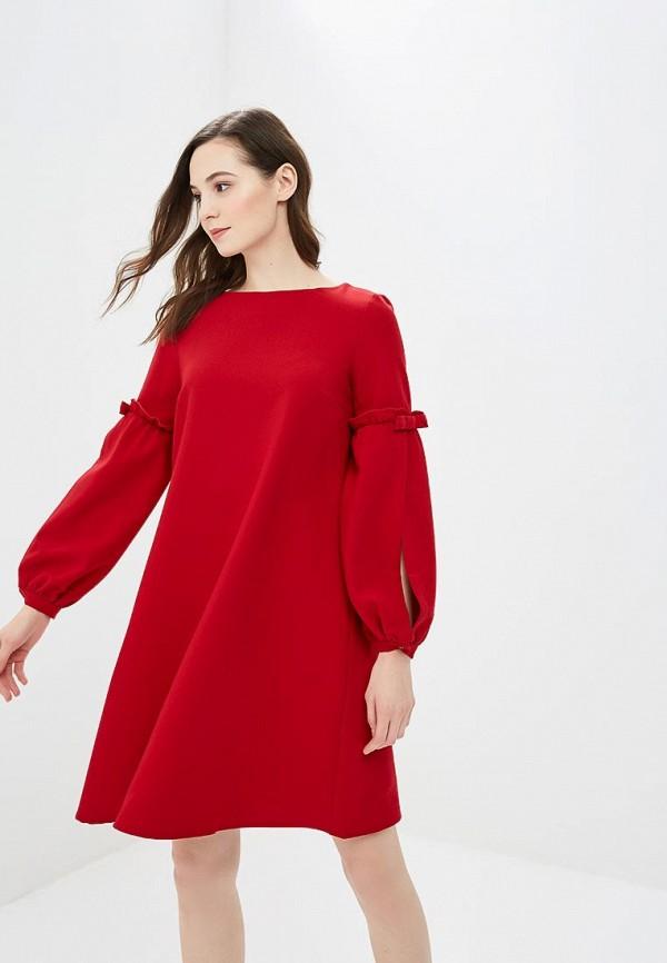 женское повседневные платье argent, красное