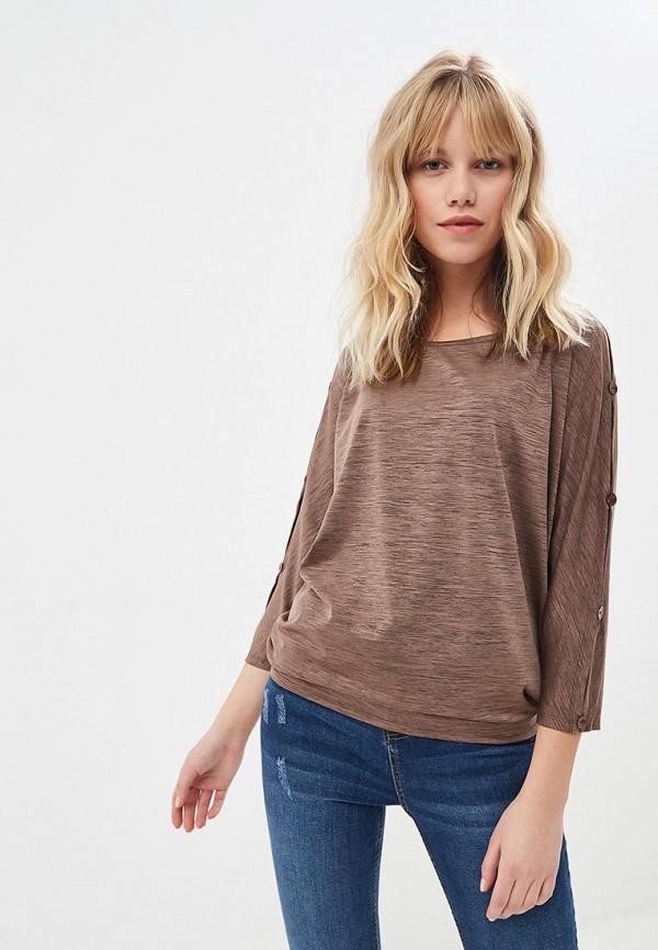женская блузка argent, коричневая