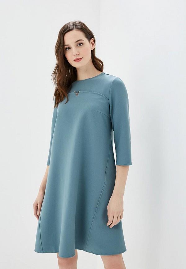 женское повседневные платье argent, голубое