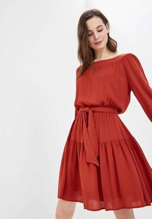 женское повседневные платье argent, оранжевое