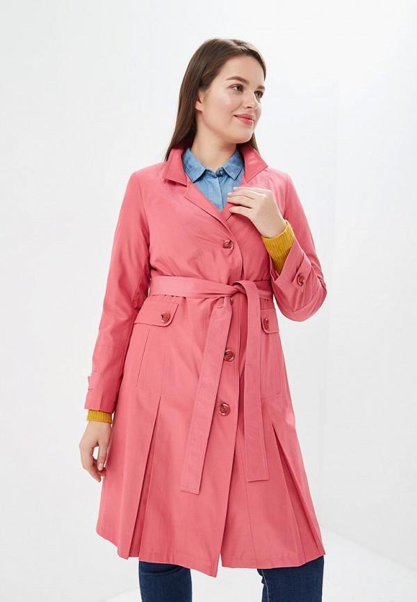 женский плащ de marse, розовый