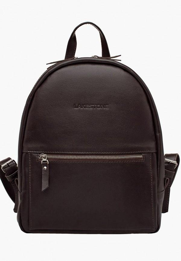 женский рюкзак lakestone, коричневый