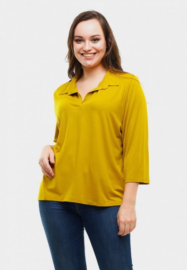 женская блузка magwear, желтая