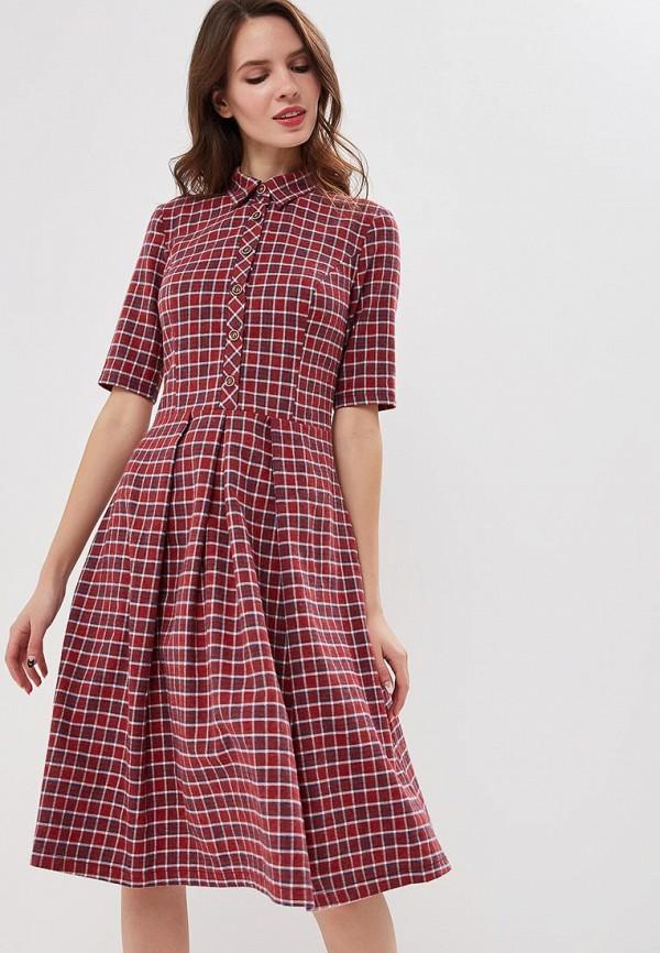 женское платье gregory, красное