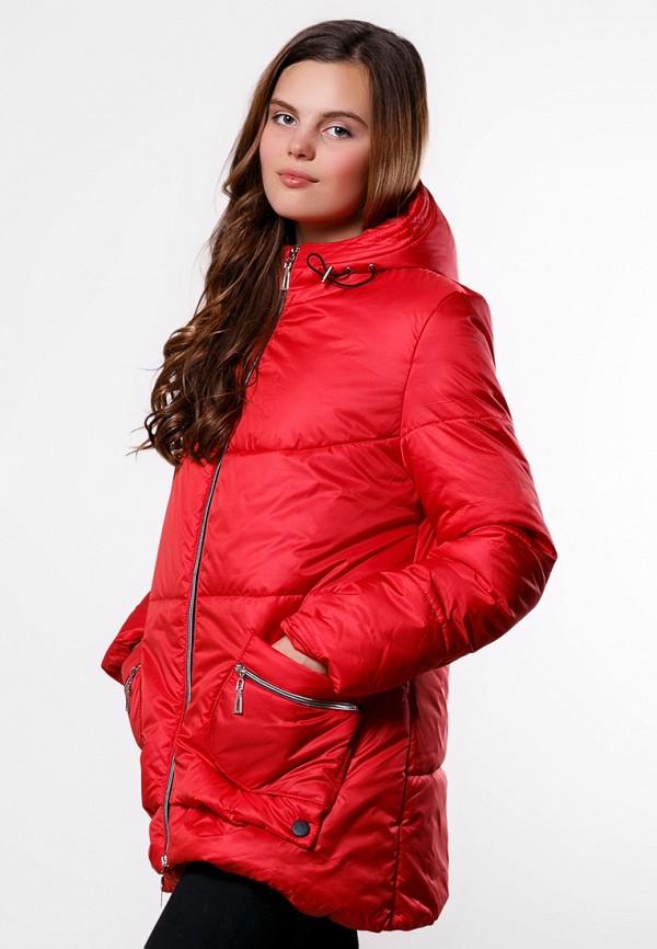 женская куртка sfn, красная