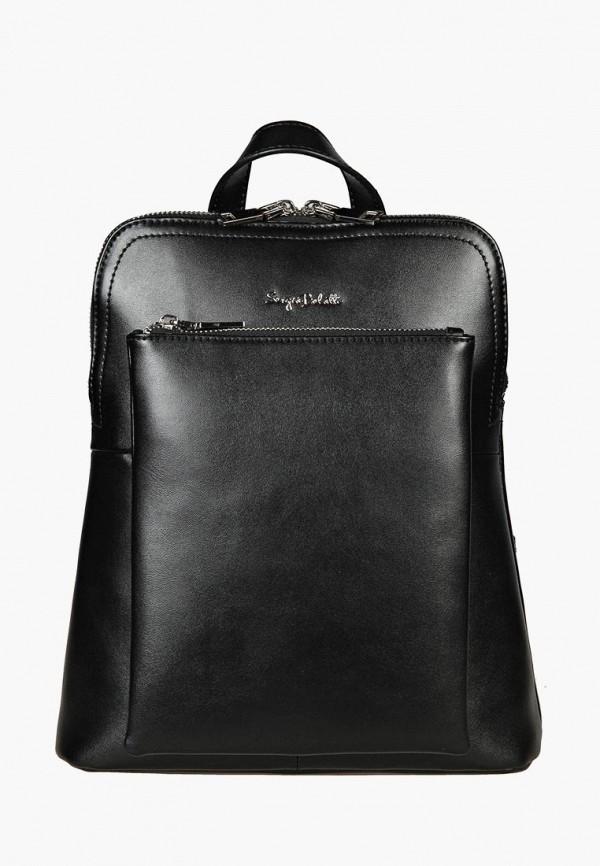 женский рюкзак sergio belotti, черный