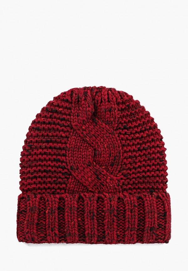 женская шапка vilermo, бордовая
