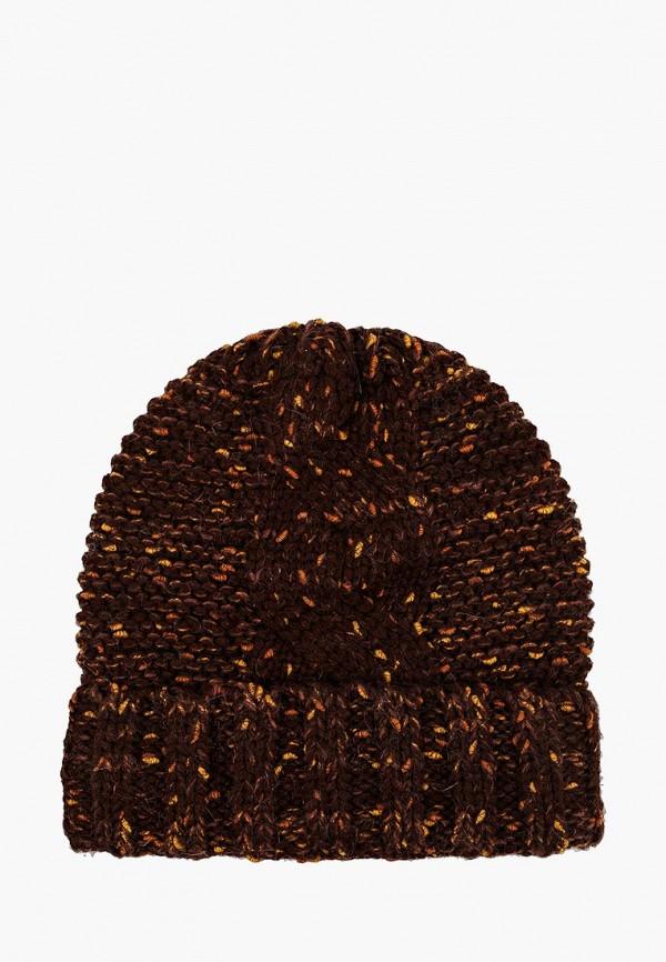женская шапка vilermo, коричневая