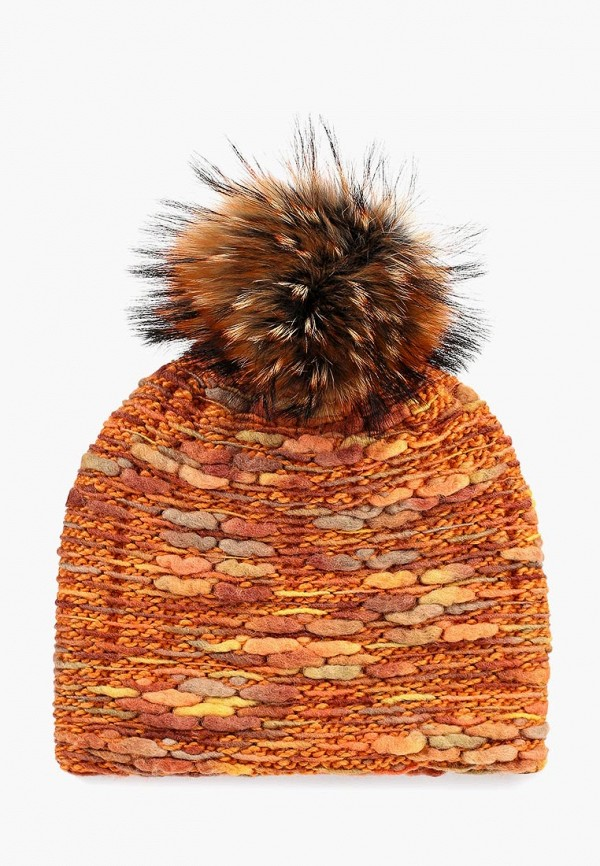 женская шапка vilermo, оранжевая