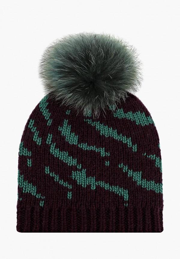 женская шапка vilermo, фиолетовая