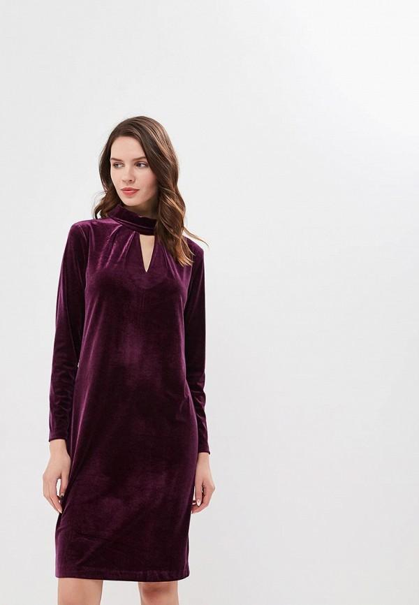 женское вечерние платье gregory, бордовое