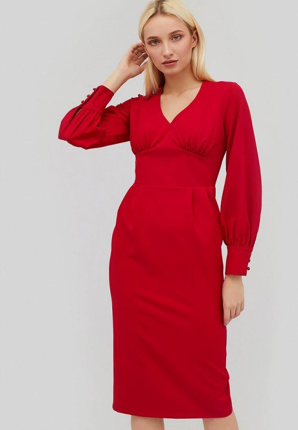 Купить Платье Cardo, mp002xw1hh3l, красный, Осень-зима 2018/2019
