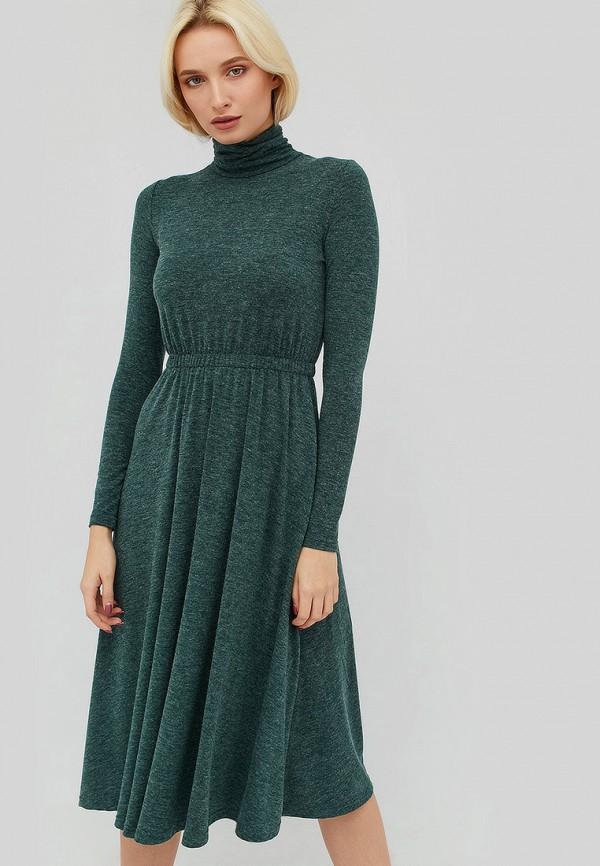 женское повседневные платье cardo, зеленое