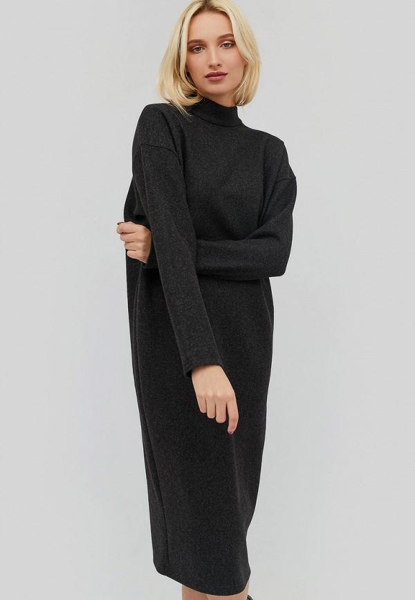 женское повседневные платье cardo, черное
