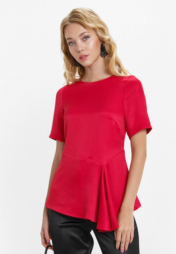 женская блузка audrey right, красная