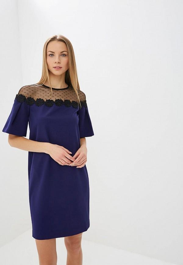 Купить Платье Villagi синего цвета