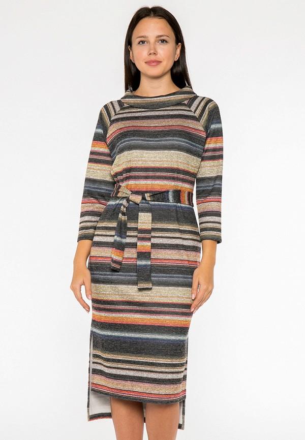 женское платье миди mankato, разноцветное