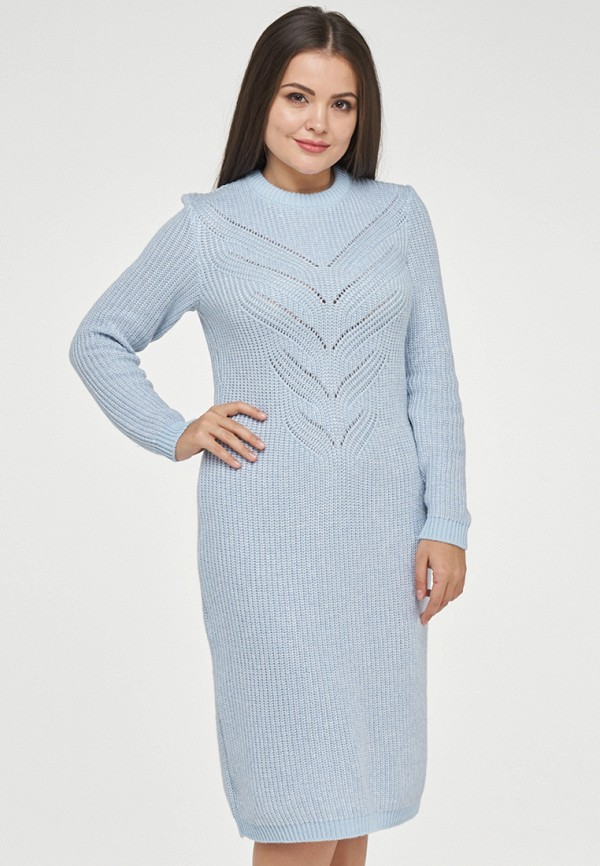 женское платье vay, голубое