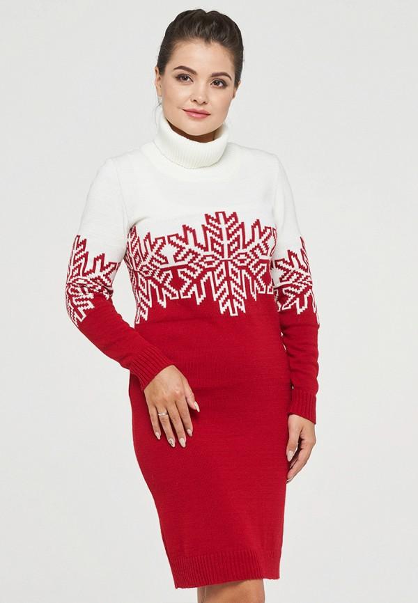 женское платье vay, красное
