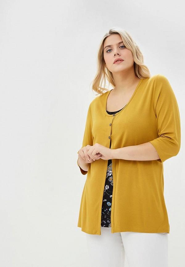 женская блузка артесса, желтая