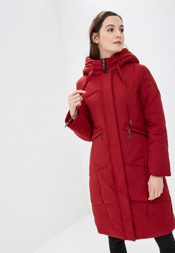 женская куртка rosedena, красная