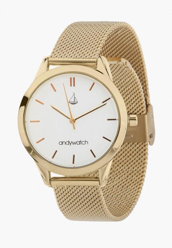 женские часы andywatch, золотые