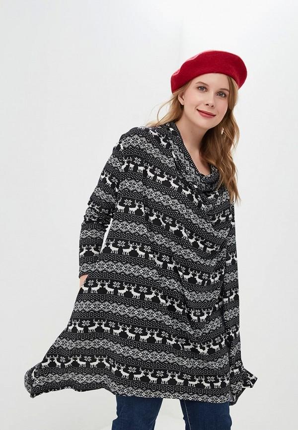 женское повседневные платье tantino, черное