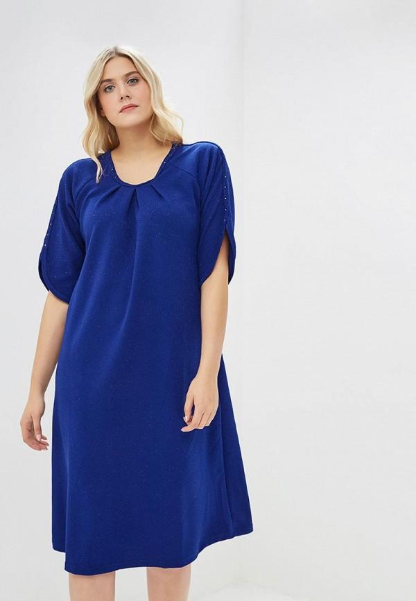женское повседневные платье артесса, синее