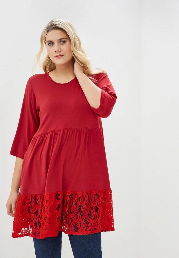 женское повседневные платье артесса, красное