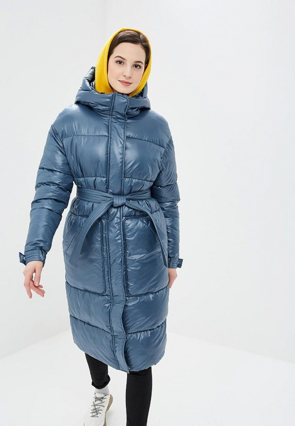 женская куртка annborg, голубая