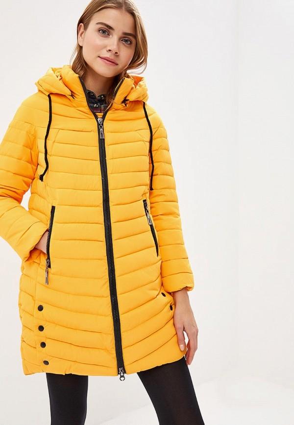 женская куртка rosedena, желтая