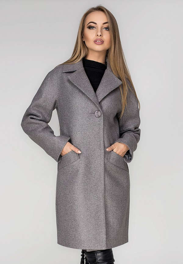 Купить Пальто Leo Pride, mp002xw1hi3z, серый, Осень-зима 2018/2019