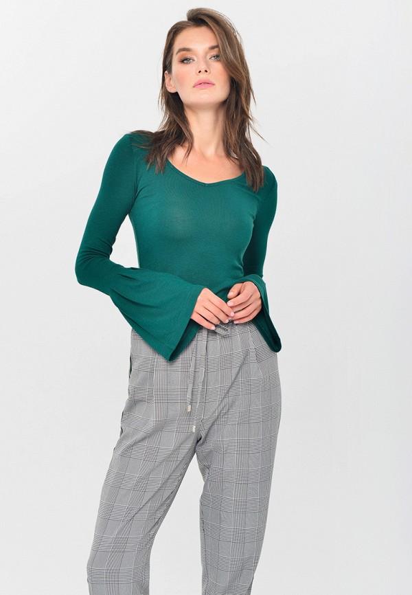 женская блузка mondigo, зеленая