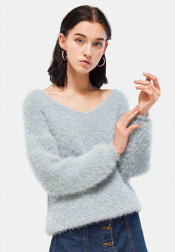 Купить Пуловер Dorogobogato, mp002xw1hi7c, голубой, Осень-зима 2018/2019