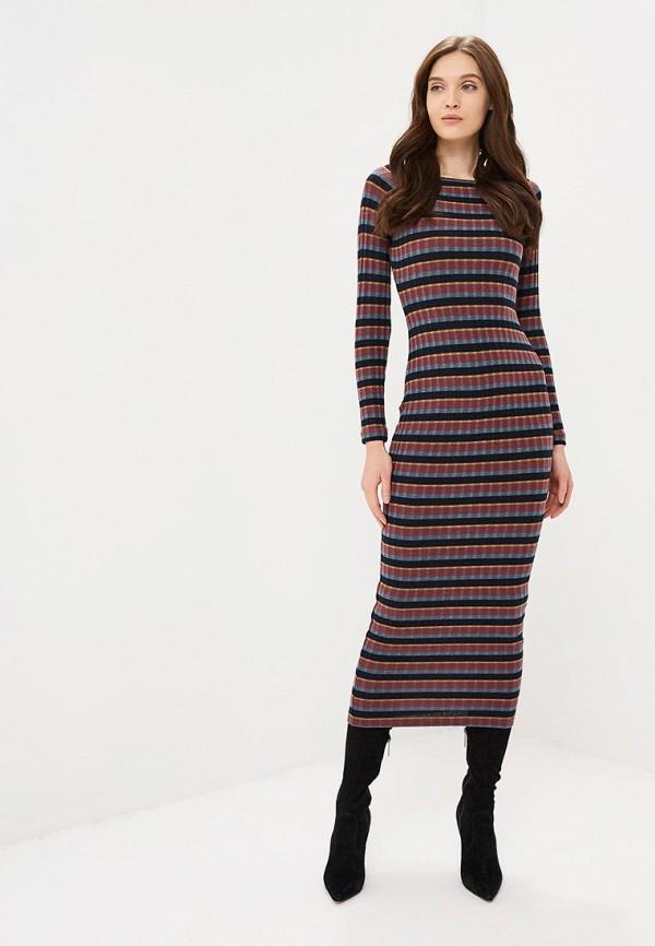 женское повседневные платье ruxara, бордовое
