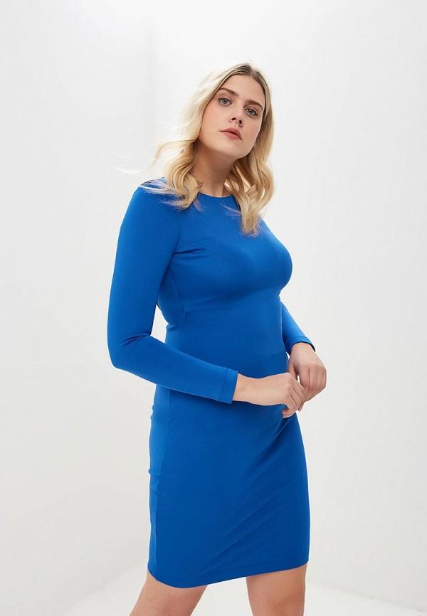 женское вечерние платье ruxara, синее