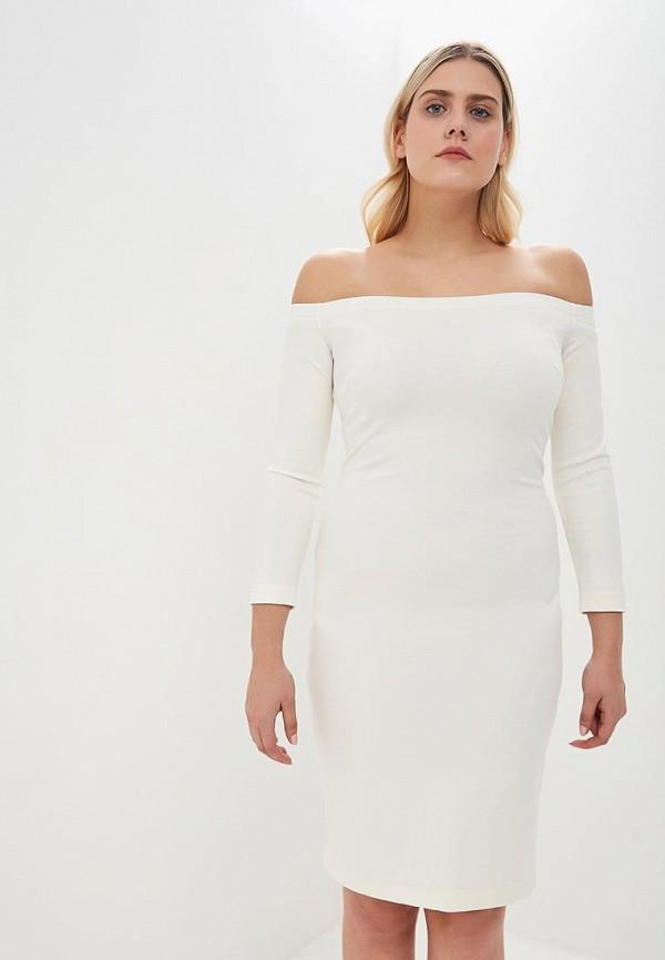женское повседневные платье ruxara, белое